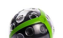 Ball Camera, When Thrown, Gets 360-Degree Panoramic Photo