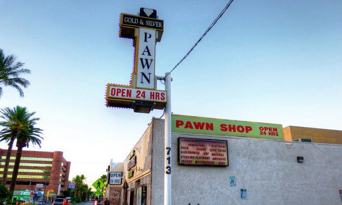 Pawn Stars pawn shop in Las Vegas (photo credit: Matthew Straubmuller)
