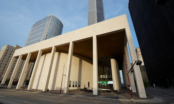 Houston's Jones Hall for the Performing Arts (Epoch Times)