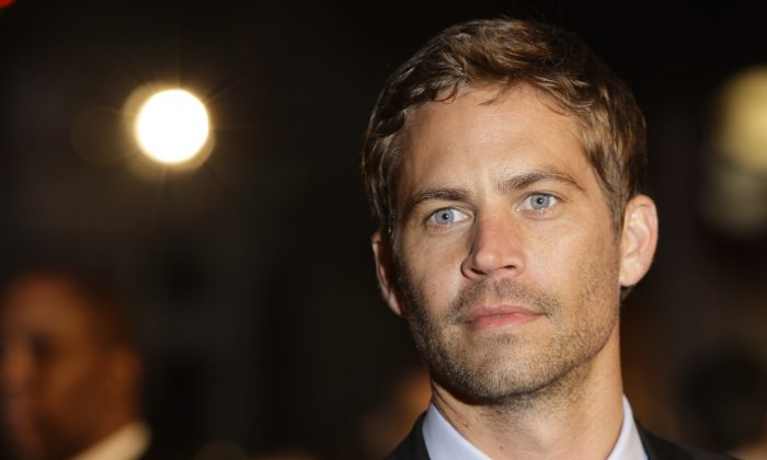 Paul Walker in a file photo. (AP Photo/Joel Ryan)