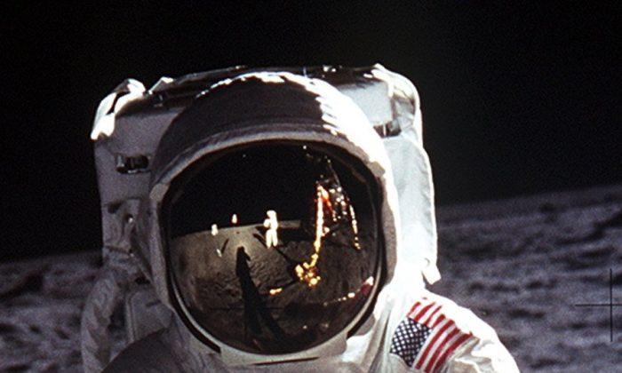 Buzz Aldrin on the moon. (NASA)