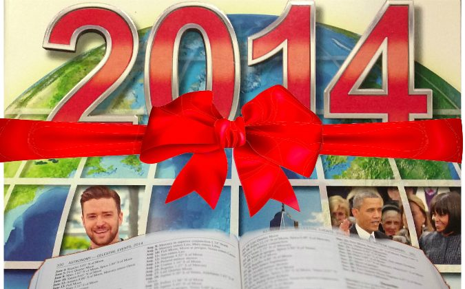 The World Almanac and Book of Facts, 2014. (Cindy Drukier/Epoch Times)