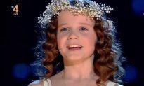 Amira Willighagen, 9, Amazes Again Singing 'Ave Maria' on 'Holland's Got Talent' (Video)