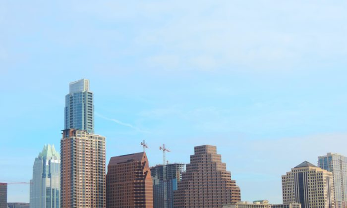 Austin's skyline (Epoch Times)
