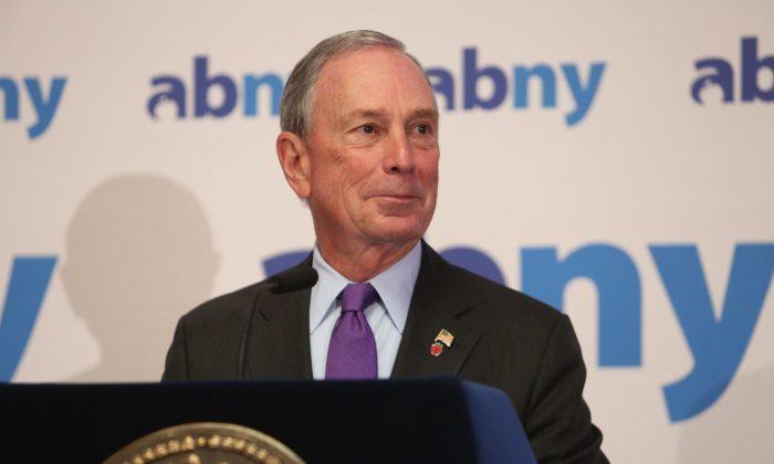 Mayor Michael Bloomberg on Dec. 5, 2013. (Spencer T Tucker/Courtesy of Mayor's Office)