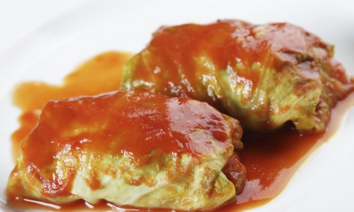 Cabbage rolls are a popular dish served at many celebrations. (Lilyana Vynogradova/Photos.com)