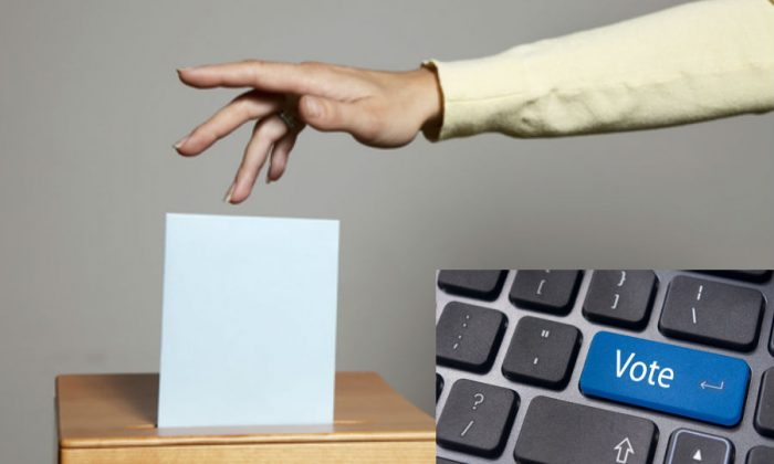 """The British Commission on Digital Democracy is considering """"Parliament 2.0"""", a vision of the future in which citizens participate in online elections, electronic referendums, and richer relationships with their political representatives. (Shutterstock*)"""