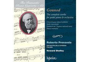 Gounod - The complete works for pedal piano and orchestra (Hyperion)