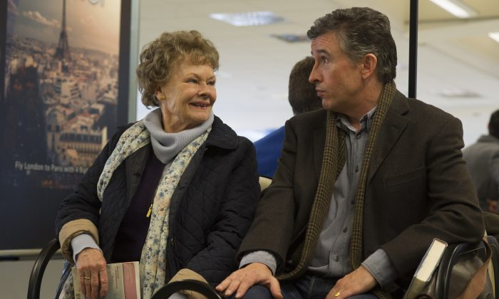 Judi Dench and Steve Coogan team up in 'Philomena.' (Alex Bailey/The Weinstein Company)