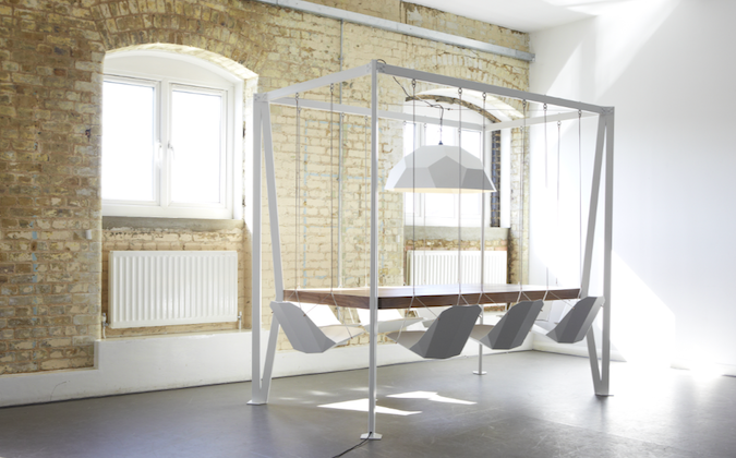 Swing Table (Courtesy of Duffy London)