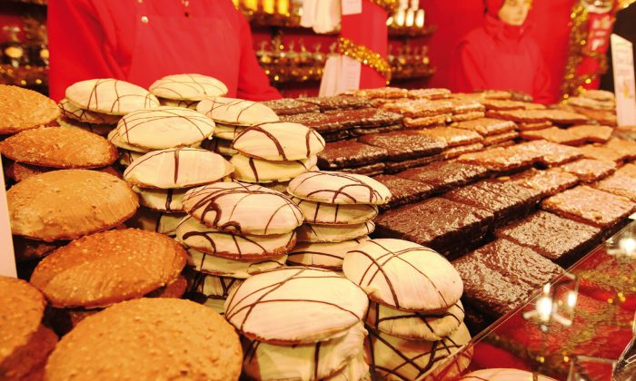 Nuremberg lebkuchen: Lebkucken on display at a bakery in Nuremberg. (Steffen Oliver Riese, courtesy of Congress & Tourismus Zentrale Nurnberg)