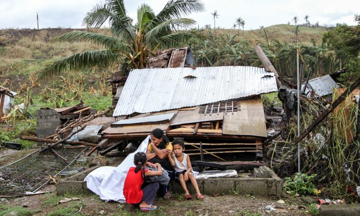 Super Typhoon Haiyan (Yolanda:Filipino name) left thousands of Filipino families homeless (Herman Lumanog/Dreamstime)