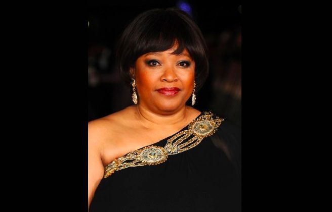 "Zindziswa 'Zindzi' Mandela attends the Royal film performance of ""Mandela: Long Walk to Freedom"" on December 5, 2013 in London, United Kingdom. (Anthony Harvey/Getty Images)"