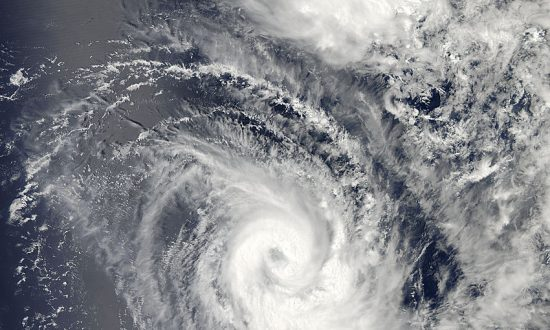 Tropical Cyclone Amara Beings Heavy Rain and is Forecasted to Strengthen