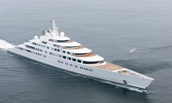 Azzam, the most expensive yacht in the world. (Lürssen)