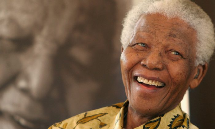 Nelson Mandela in a 2005 file photo. (AP Photo/Denis Farrell, File)