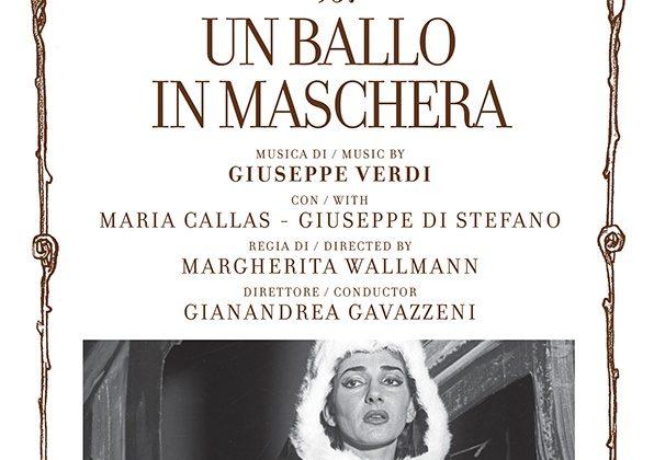 """Maria Callas in """"Un Ballo in Maschera,"""" newly released in a lavish set. (Teatro alla Scala Memories)"""