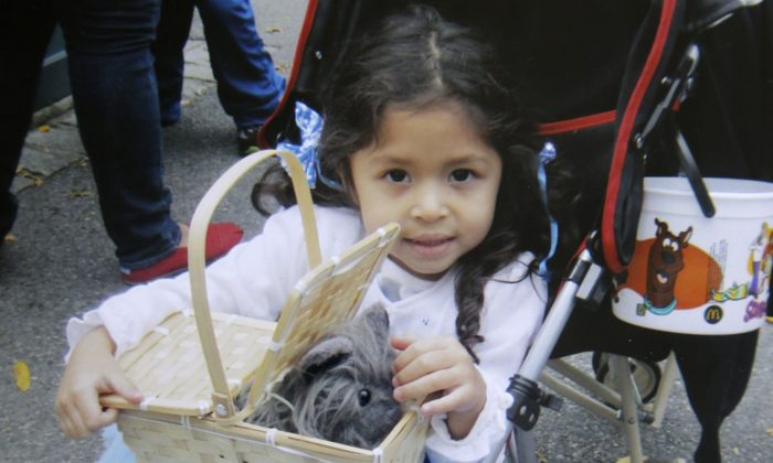 Ariel Russo, the 4-year-old girl killed in a car accident on June 4, 2013. (AP Photo/Russo Family)