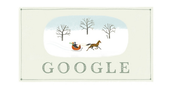 20. Holiday Series 2013 #1, Dec. 24. (Google Screenshot)