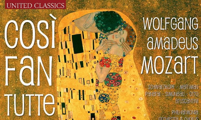 """Così fan tutte"" CD (Courtesy of United Classics/Naxos)"
