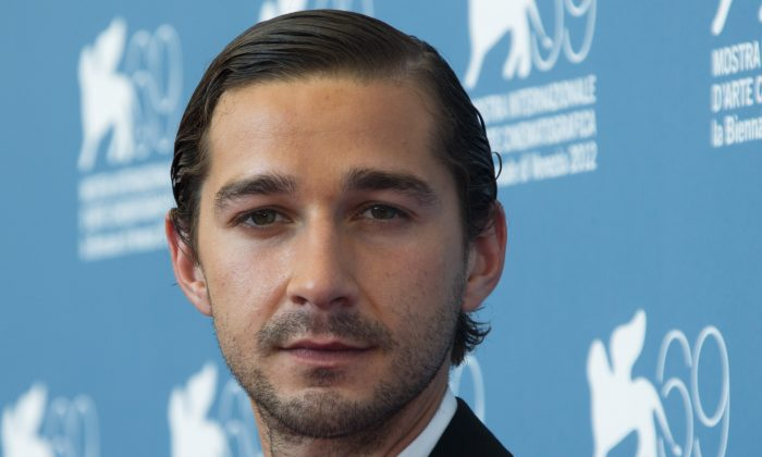 Shia LaBeouf in a 2012 file photo. (AP Photo/Joel Ryan, File)