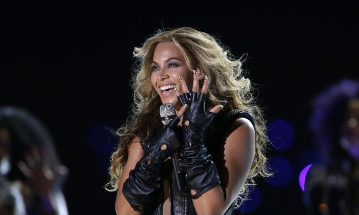Beyonce, who recently released a new album, in a February 2013 file photo. (AP Photo/Mark Humphrey, File)