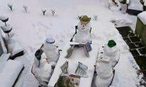 Jerusalem Snow Sculptures: Heaviest Snowfall in 70 Years, Rare Winter Fun (+Photos)