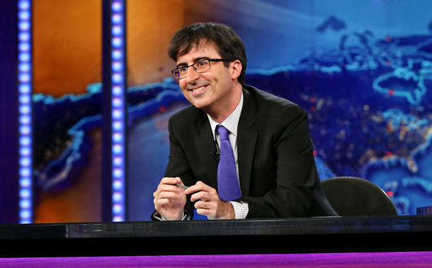 John Oliver., who is leaving the Daily Show (Neilson Barnard/Comedy Central)