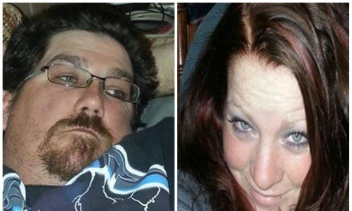James Glanton and Christina McIntee. (AP Photos/Family Photos via Pershing County Sheriff's Office)