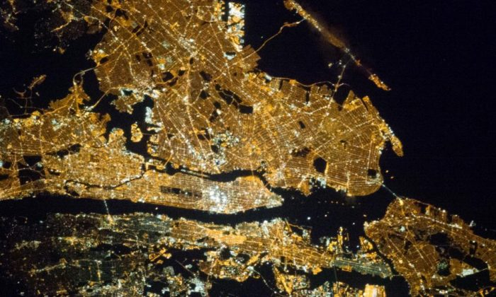 New York City seen from the International Space Station. (NASA)