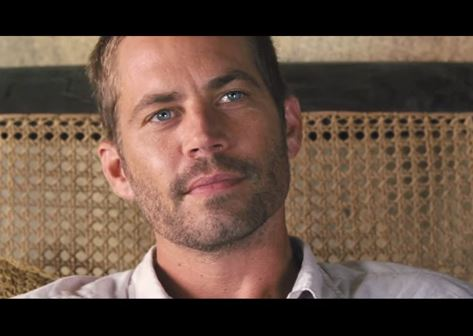 "Paul Walker as Brian O'Conner in the ""Fast & Furious"" series. (Screenshot/YouTube)"