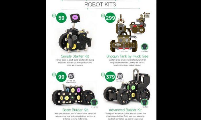 Moss robot construction kit (Screenshot/Kickstarter)