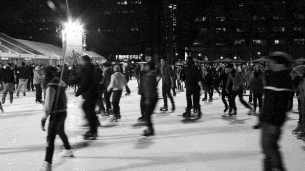 Bryant Park Skating (Romer Pedron)