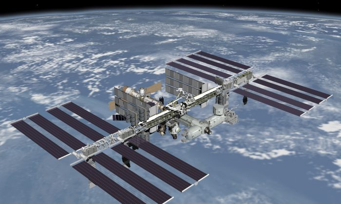 The International Space Station. (NASA)