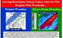 Winter Storm Gemini Update: Heavy Rain and Flooding Over Midwest
