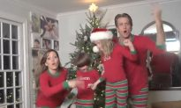 #XMAS JAMMIES Christmas Video is a Wonderful New Take on the Holiday Card