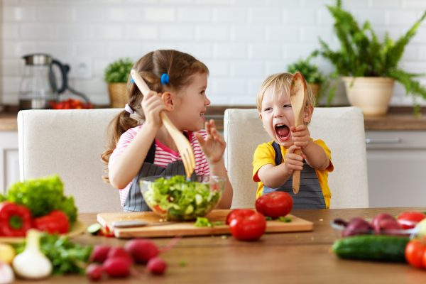kids eat healthy