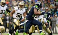 Seattle Seahawks Lead New Orleans Saints 16–0 at the Half in NFC Divisional Playoff Game