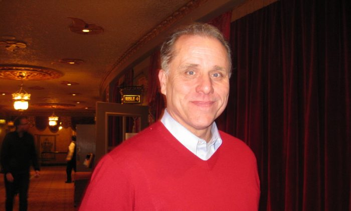 Matt Edwards attends Shen Yun Performing Arts at the Tennessee Theatre on Jan. 7. (Teresa You/Epoch Times)