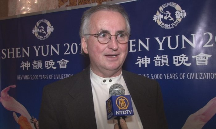 Gordon Brugman enjoyed Shen Yun Performing Arts at the Tennessee Theater in Knoxville, Jan. 8. (NTD Television)
