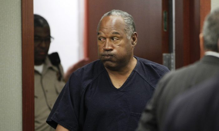 O.J. Simpson in court in May 2013. (Steve Marcus-Pool/Getty Images)