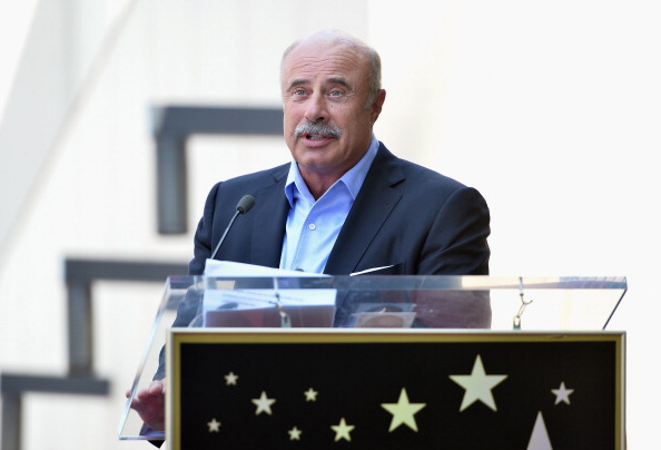 TV personality Dr. Phil McGraw attends a ceremony honoring David Foster with the 2,499th star on the Hollywood Walk of Fame on May 31, 2013 in Hollywood, California.  (Photo by Alberto E. Rodriguez/Getty Images)