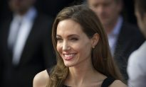 Angelina Jolie Carries Her Office Around With Her