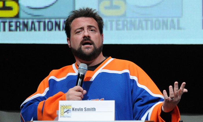 Kevin Smith speaks onstage during Comic-Con International at San Diego Convention Center on July 20, 2013 in San Diego, California. (Photo by Kevin Winter/Getty Images)