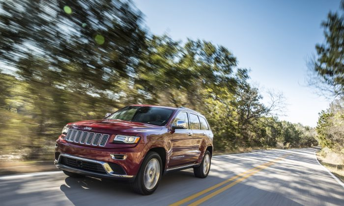 2014 Jeep Grand Cherokee (Courtesy of Jeep/Dodge)