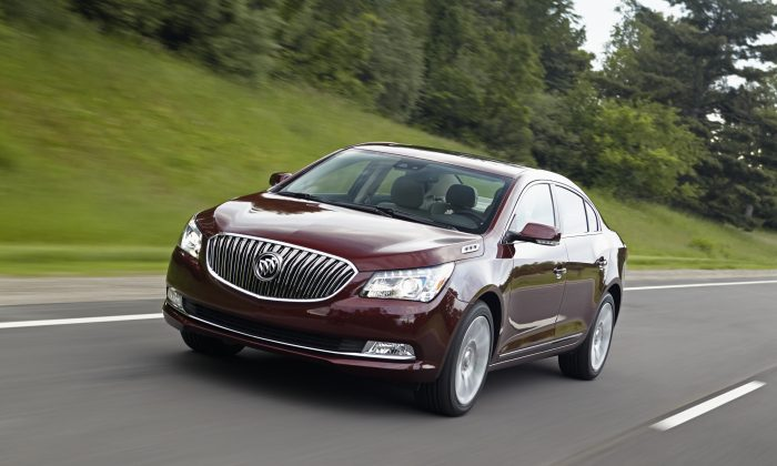 2014 Buick LaCrosse (Courtesy of GM/Buick)
