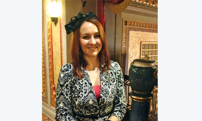 Sabrina Seamon saw Shen Yun Performing Arts for the first time at the Tennessee Theatre, on the evening of Jan. 7. (Mary Silver/Epoch Times)
