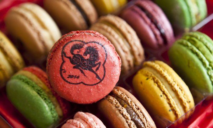 Macarons from MacarOn Café. (Samira Bouaou/Epoch Times)
