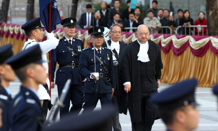 The ceremonial opening of the legal year 2014 on Jan. 13. (Epoch Times)