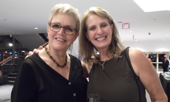 Margaret Lebie and Eileen Torrgeson enjoyed Shen Yun Performing Arts at Vancouver's Queen Elizabeth Theatre on Jan. 24, 2013. (Epoch Times)
